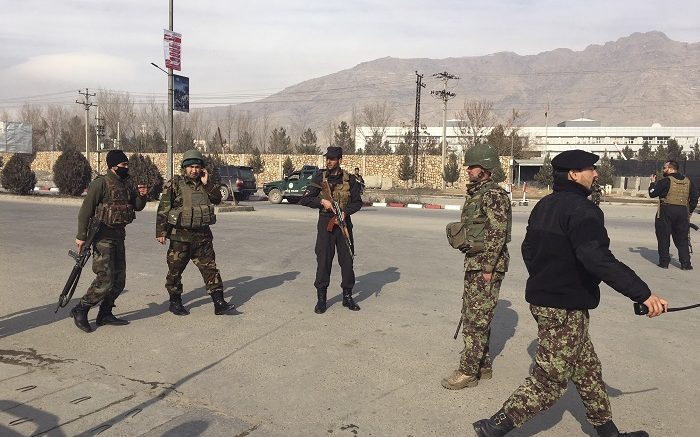 Afghan security personnel