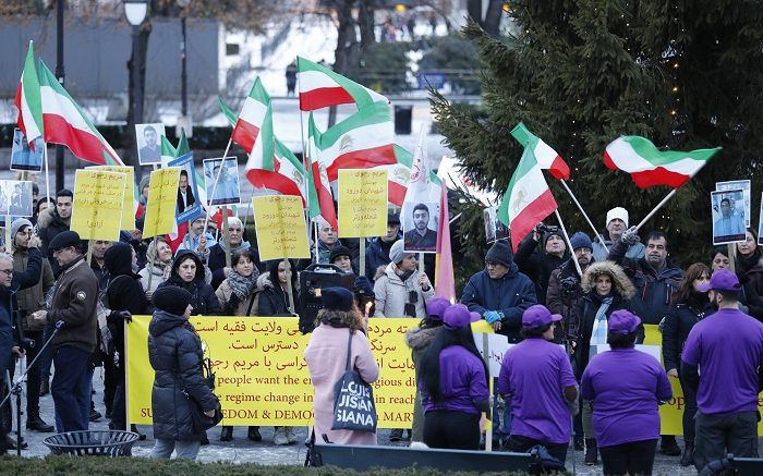 Demonstration Iranians