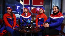 Cross-country Skiers Pyeongchang Winter Olympics