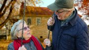 Old Person Couple Pension