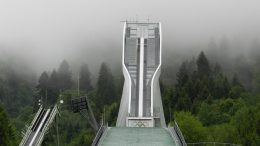 Ski Jumping small hill Korea Olympics Forfang