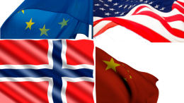 EU USA Trade War, Trump China Norway