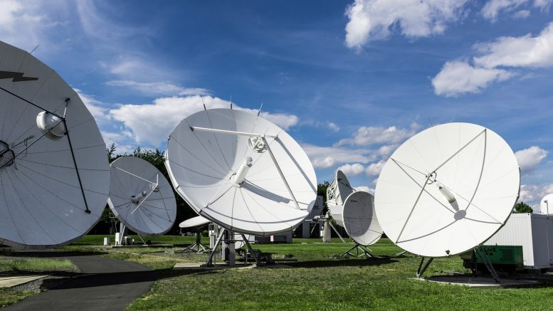 Satellite dish Intelligence Satellite project broadband
