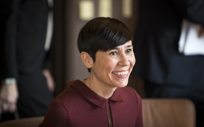 Minister of Foreign Affairs Ine Eriksen Søreide.