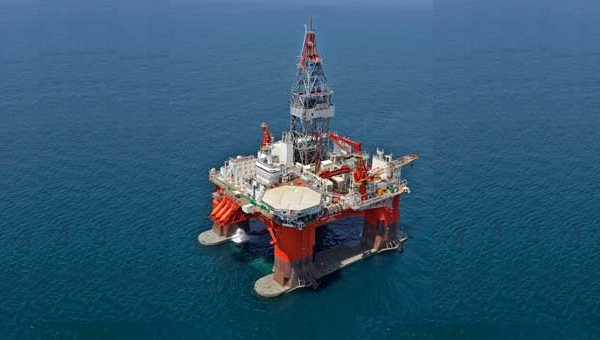 West Hercules. Seadrill Greenpeace