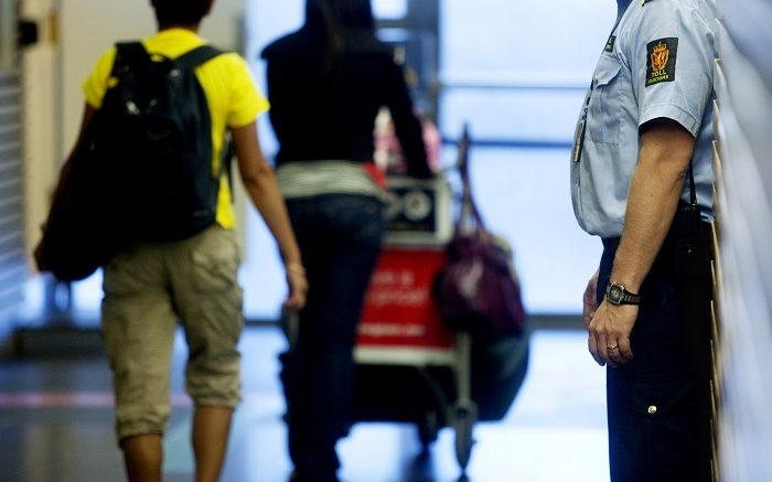 A customs officer