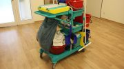 Cleaning trolley NSB Maintenance