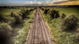Railroad track railway NSB Bane Nor Rail Buckling Intercity