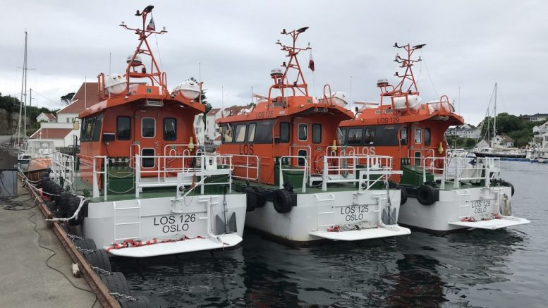Pilot boats Tananger emergency hatches