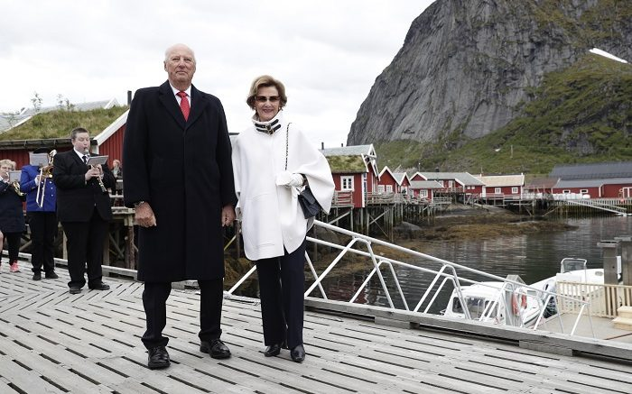King Harald and Queen Sonja of Norway
