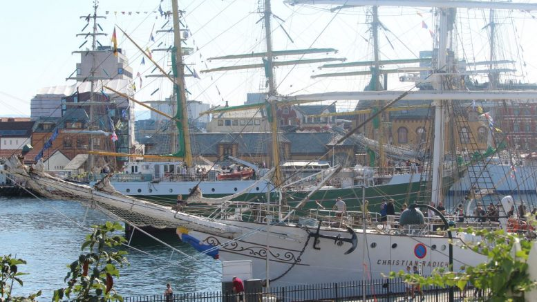 Tall Ships Races weather-wise