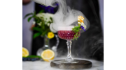 Smoked Ruby Summer Solstice Sour, Aquavit