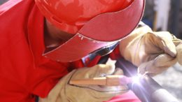 oil industry oil worker welder welding