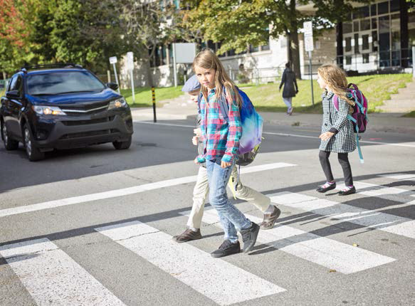 Children school road accidents