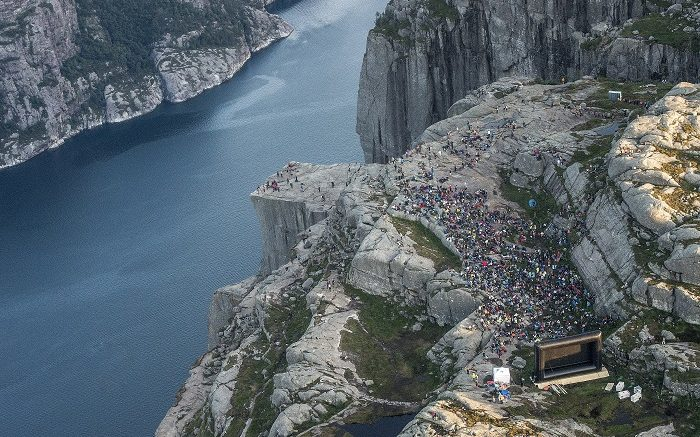 Preikestolen Pulpit Rock Mission Impossible