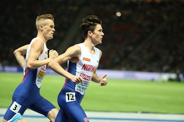 Brothers Filip Ingebrigtsen and Jakob Ingebrigtsen (Norway / Sandnes IL)