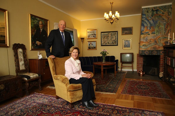 Queen Sonja's childhood home on