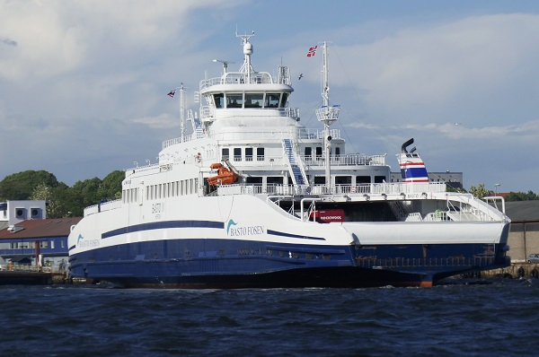The ferry Bastø VI