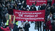 The International Women's Day in Oslo.