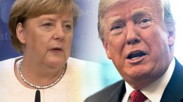 Import taxes, Trump Merkel