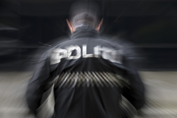 Police at work