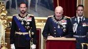King Harald Paris Accord storting