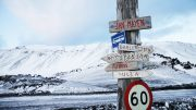 Jan Mayen. Eartquacke Sign
