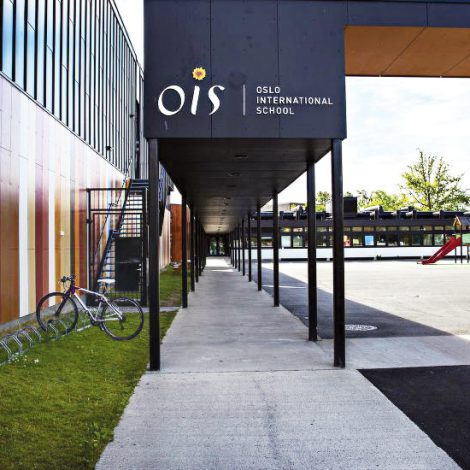 Advert for Oslo International School