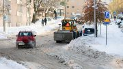 Oslo Snow Ploughing Winter