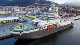 The research vessel Crown Prince Haakon