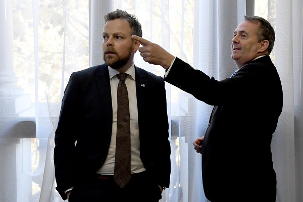 Liam Fox wants to liberalize trade with Norway