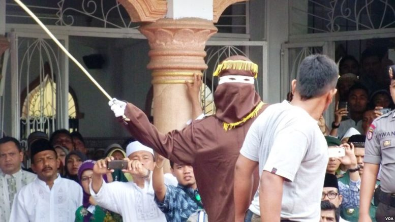 Aceh Caning Iranian