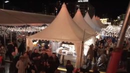 Christmas market in Bergen