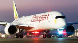 Ethiopian Airlines light mast