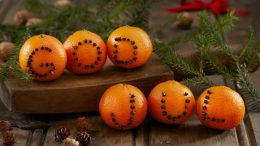 Virke God Jul Orange Yule