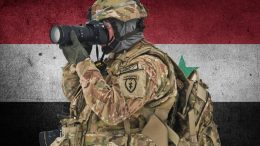 Soldier with Camera syria