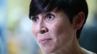 Minister of Foreign Affairs Ine Eriksen Søreide Pompeo USA