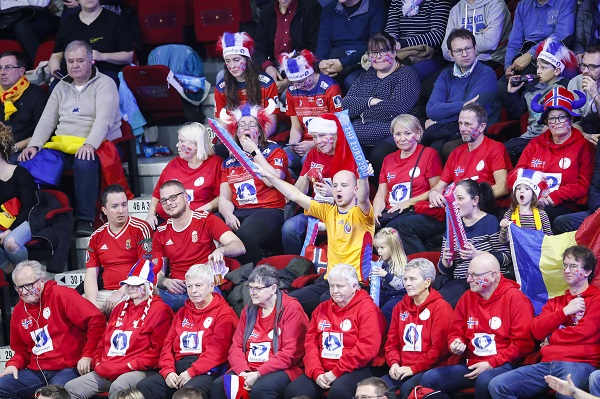 Norwegian supporters
