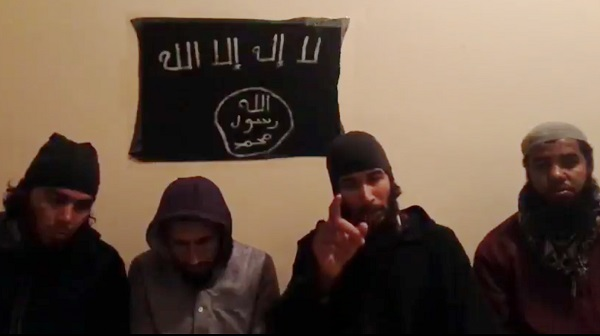 Ueland Murder suspects under the flag of the Islamic State