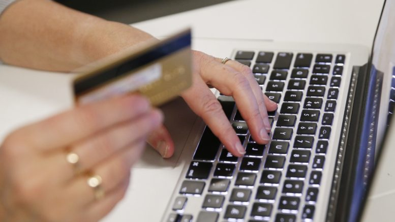 Scammers web payment card