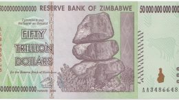 demonetization zimbabwe dollar