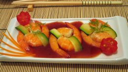 Cantonese Prawns Food Free-Trade China