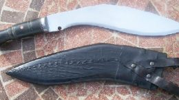Kukri Knife knife-stabbed