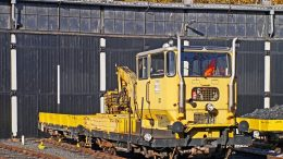 Construction train Follo Railroad