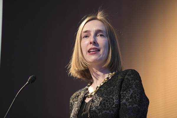 Minister of Research and Higher Education Iselin Nybø (Liberal Party)