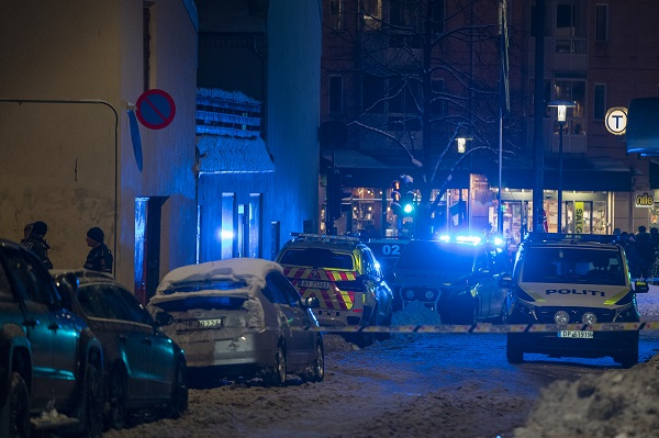Police at work in Oslo