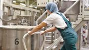 Tine industrial food production.