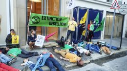 Demonstration Extinction rebellion