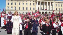 17th of May Oslo Royal Palace