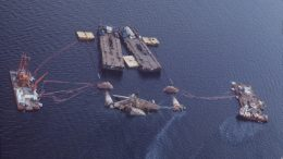 Alexander Kielland Oil rig salvage